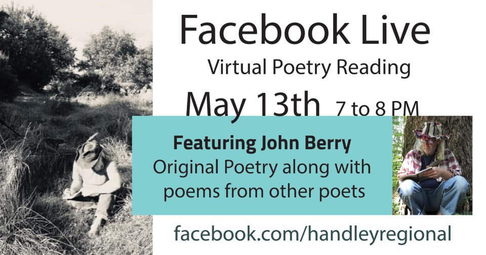 Facebook Live Readng for Handley Library